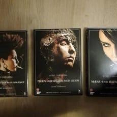 Stieg Larsons triologi, instruktør Daniel Alfredson, DVD, drama, Stieg Larsons triologi. Alle kun.