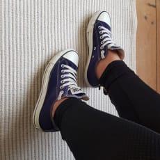 Sneakers, str. 38, Converse, Mørkeblå, ., Næsten som ny