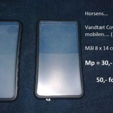 Cover, t. andet mærke, Universal, Vandtæt Cover til mobilen... 8 x 14 Cm... 30,- Pr. stk. - 50..