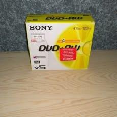 DVD - Skiver - Overskrivb