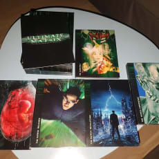The Matrix - ultimate edition, DVD, action, Sælger The Matrix - ultimate edition.. 10 dvd'er: A.
