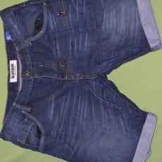 Shorts, ID Denim, str. findes i flere str., Blå, Næsten som ny