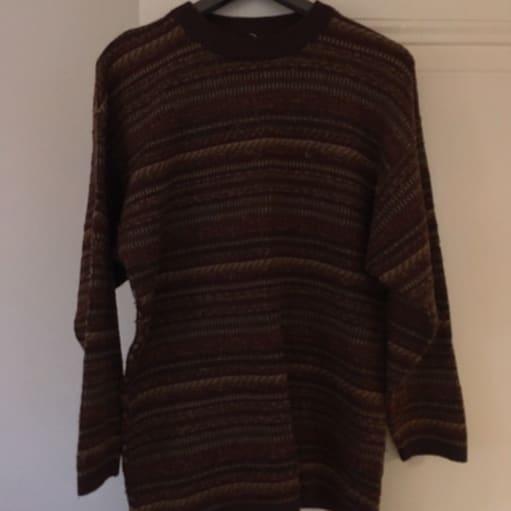 Sweater, Ukendt, str. 38, God men brugt, Lækker sweater. Kan også bruges af mindre størrelser som.