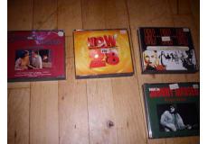cd musik bokse 14 stk blandet