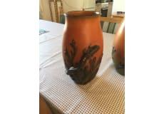 Ipsen Keramik vaser med ål 2 stk.