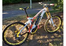 HAIBIKE XDURO DOWNHILL PRO 2016 - Elektrisk mountainbike