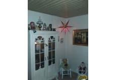 Rigtig gammel vitrine, Annie Sloan maling/voks b: 100 d: 39 h: 171
