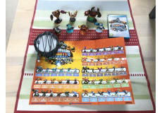 Skylanders Giants med figurer og tilbehør til Wii U