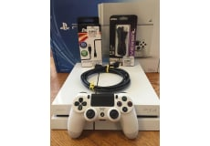 NEW PlayStation 4 PS4 Sony Glacier White 500GB konsol (CUH1100AB02) Japan
