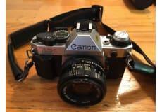 Retro Canon I AE-1 35mm I SLR-filmkamera