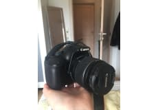 Canon1100D, 70-300 mm TAMRON linse, kamerataske