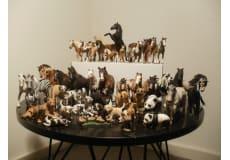 54 forskellige dyre figurer (schleich)