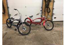 Trendy Harley cykel til den kræsne bruger