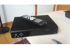 digital tv modtager med fjernbetjent