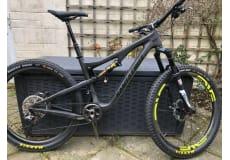 Santa Cruz 5010 CC - størrelse M, XTR ENVE Rockshox Maxxis carbon Mountain bike
