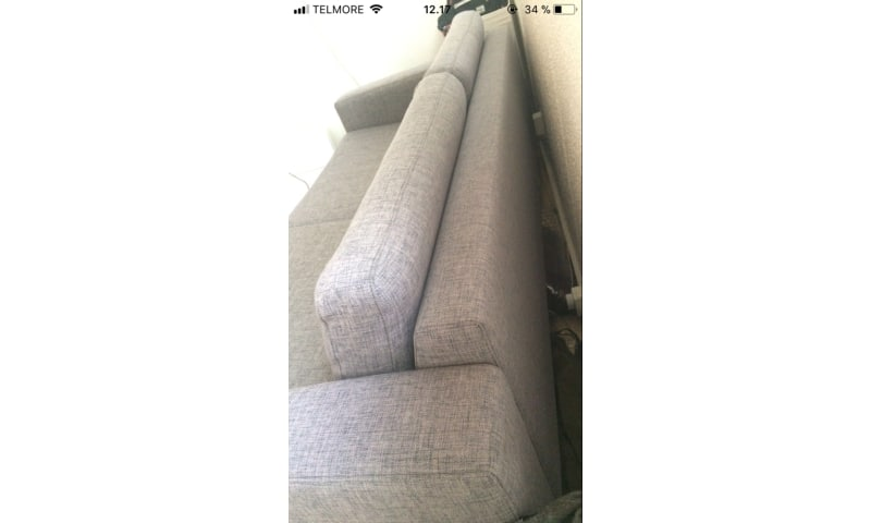 Bolia sofa 2,5 personers i slidstærkt materiale