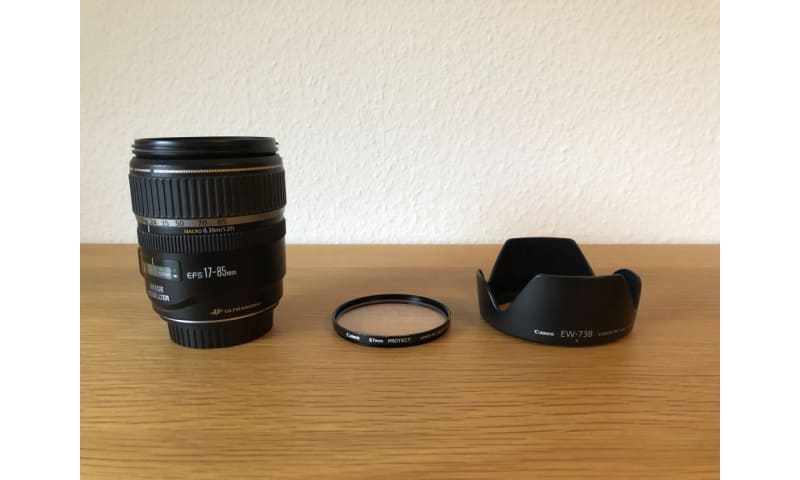 Canon Zoom Lens  EF-S17-85 f/4-5.6 IS USM