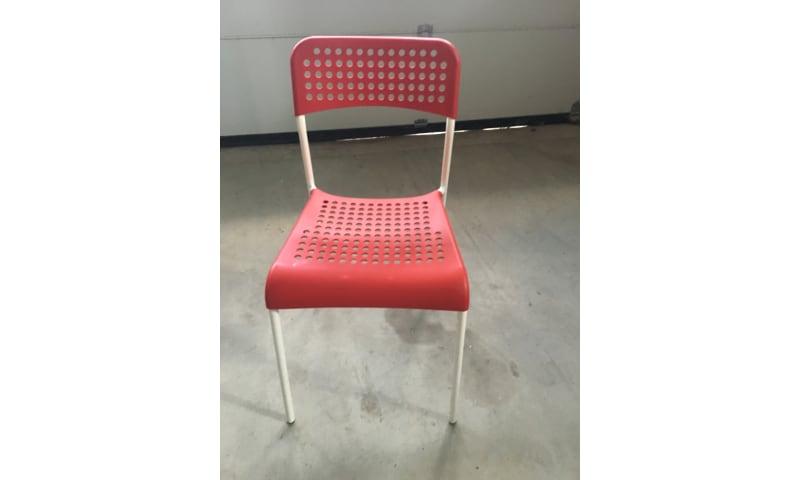 Røde stole