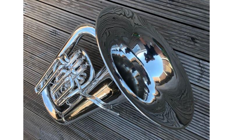 Besson Sovereign BE982-2 EEb Tuba - fantastisk original tilstand
