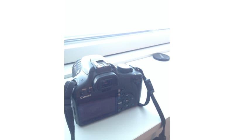 Canon 500D, godt velholdt