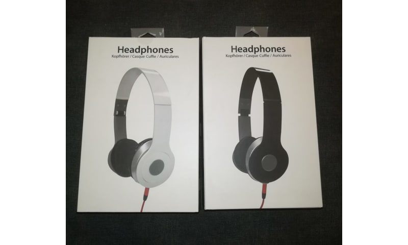 Helt nye hovedtelefoner