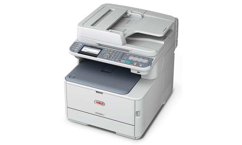 OKI MC562w farveprinter sælges