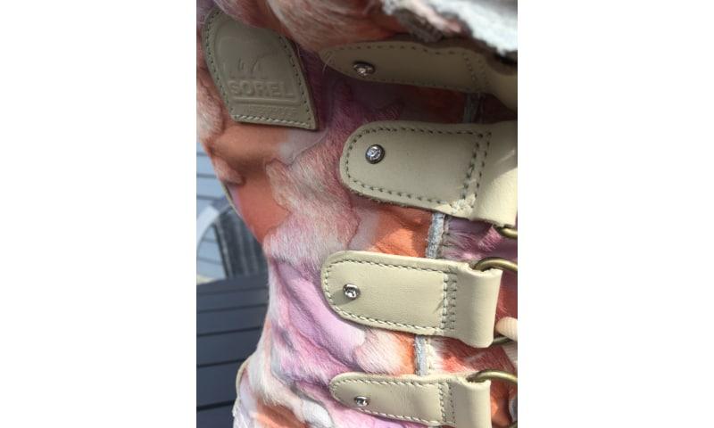 Sorel støvle Pink Camo med Swarowski sten
