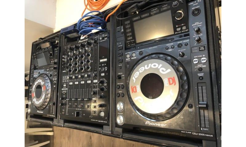 Pioneer CDJ2000Nexus (par), Pioneer DJM900Nexus, Pioneer SDJ60X (par)