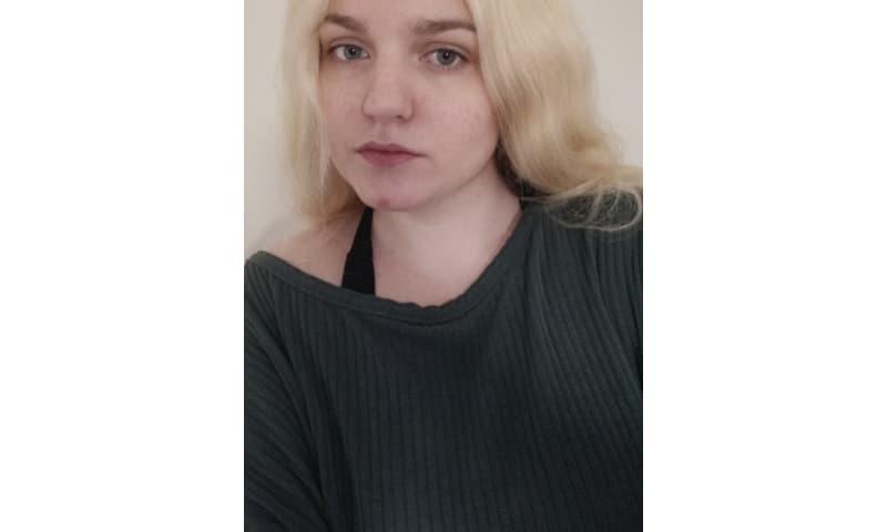 Blond Menneskehår Paryk