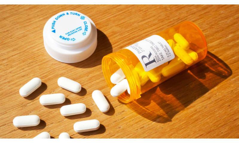 Painkillers og andre tabletter til rådighed