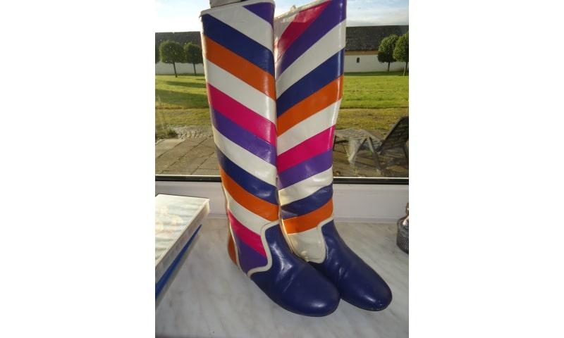 Farverige støvler fra Lola Ramona