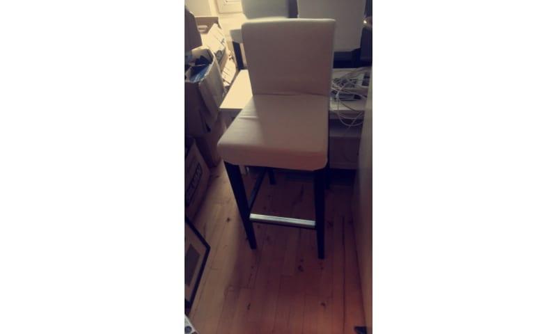 Køb Høj bord med eller uden stole (ikea) - Tilsalg.dk