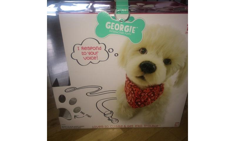 Georgie Interaktiv hundehvalp i original emballage købt i USA 2016
