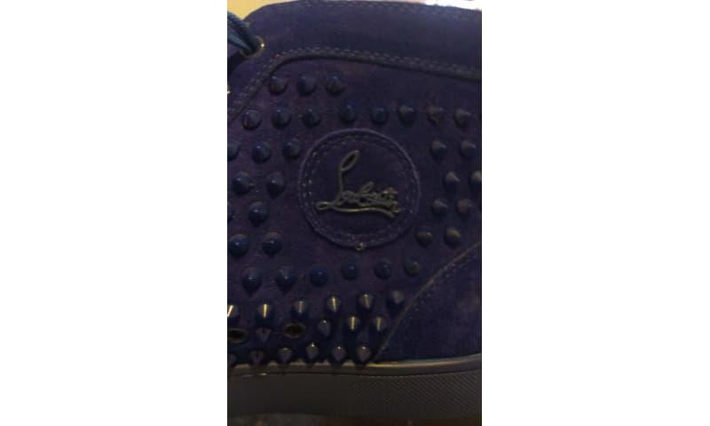 Louboutin blå sko