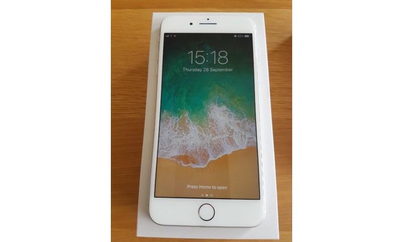 Apple iPhone 8 plus helt ny original bruger aldrig