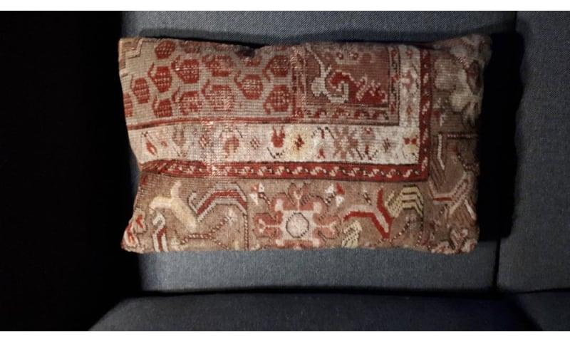 håndlavet kelim pudebetræk fra tyrkiet