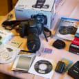 Canon - EOS 5D Mark III DSLR kamera med 24-105 mm f / 4L IS Lens - Sort