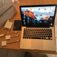 "Ny Apple MacBook Pro 2017 Retina 15 ""/ MSI GT73VR TITAN SLI 18,4 tommer Full HD i7"