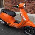 2017 Piaggio Vespa Sprint 125cc Scooter Orange Euro 4 ABS