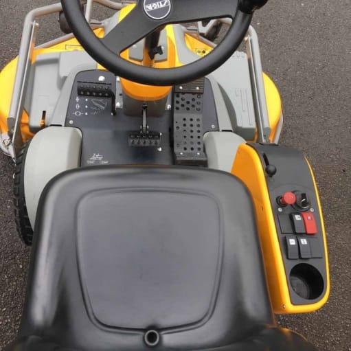 2014 Stiga Park Pro 18 4WD udenfor 125cm - slåmaskin