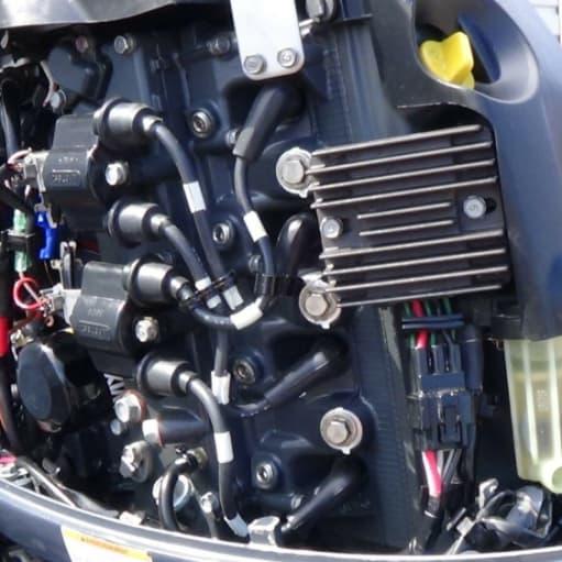 2014 YAMAHA F70 EFI Påhængsmotor