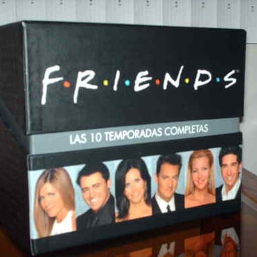 friends dvd boks