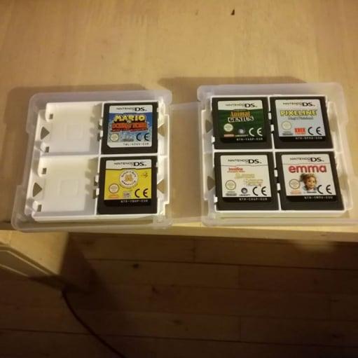 Nintendo Ds spil/boks