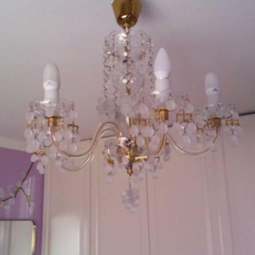 Ægte Bøhmisk lysekrone fra Tjekkiet