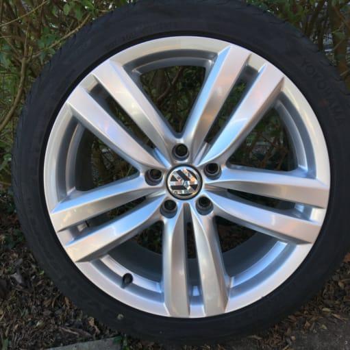 VW Fælge m dæk