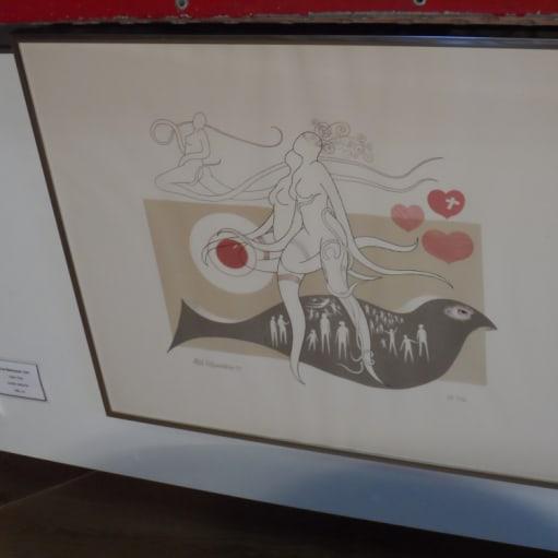 """Kunstværk """"Uden Titel"""" - Arne Rasmussen, 1985"""