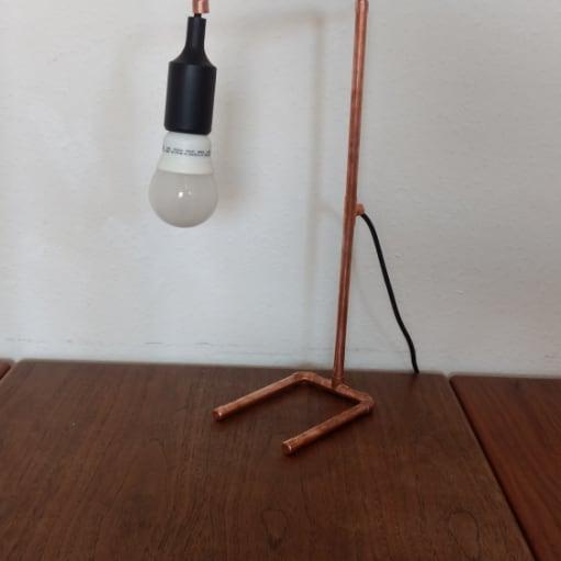 Kobber Lampe