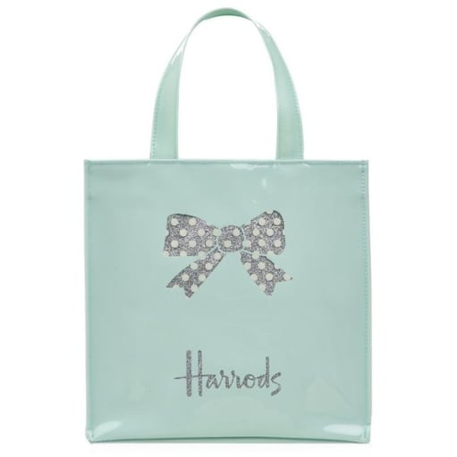 Harrods Small Beth's Bow Shopper Bag (LIMITED EDITION)