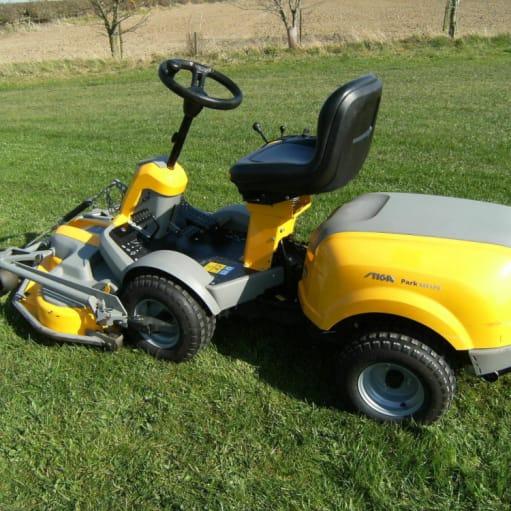 Stiga Park 540 LPX 4-hjulstræk på klipperen