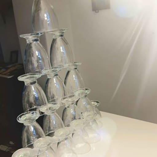 Simple små glas 15Stk
